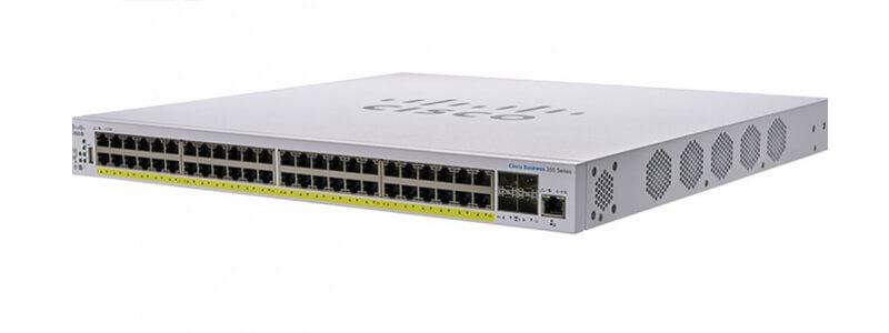 CBS350-48P-4G-EU 48x10/100/1000 ports PoE+ with 370W power budget 4xGigabit SFP