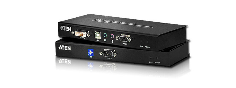 CE600 USB DVI Cat 5 KVM Extender (1024 x 768@60m)