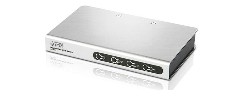 CS74E 4-Port PS/2 VGA Slim KVM Switch
