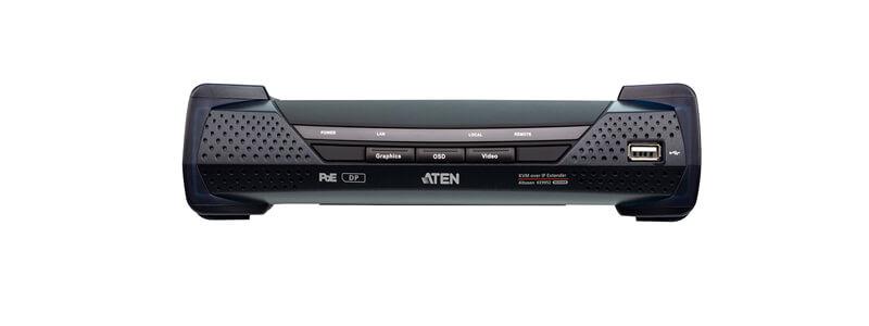 KE9952 4K DisplayPort Single Display KVM over IP Extender with PoE