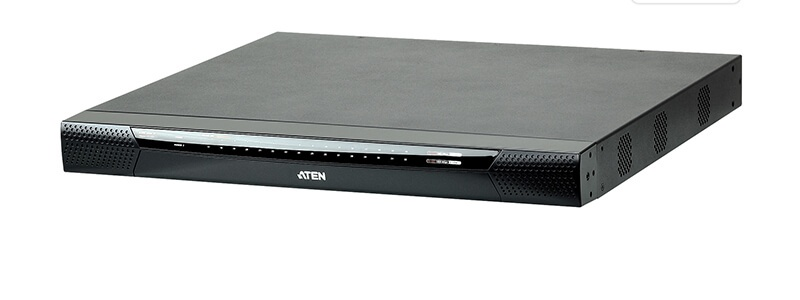 KN8132V 1-Local/8-Remote Access 32-Port Multi-Interface Cat 5 KVM over IP Switch