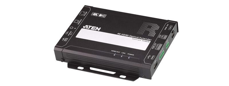 VE883R 4K HDMI Optical Receiver (4K@300m (K1, MM) / 10km (K2, SM))
